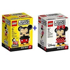 Lego Brickheadz 41625 Minnie Mouse 129pcs New Sealed 2018 Disney