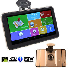 """7"""" Android 4.4 Car GPS Navigator 512MB 8GB Camera Video Recorder Bluetooth AV-IN"""