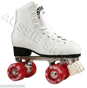 STARFIRE-High-White-Ladies-Girls-Kids-Roller-Skates-Roller-Derby-Skates