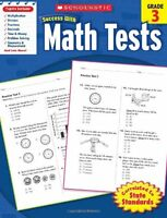 Scholastic Success With Math Tests, Grade 3 (scholastic Success With Workbooks: on sale
