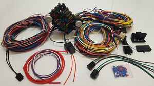 [SCHEMATICS_48YU]  Universal Gearhead 1964 1965 1966 Ford Mustang Fairlane Wiring Harness Wire  Kit | eBay | 1966 Mustang Wiring Harness Kit |  | eBay