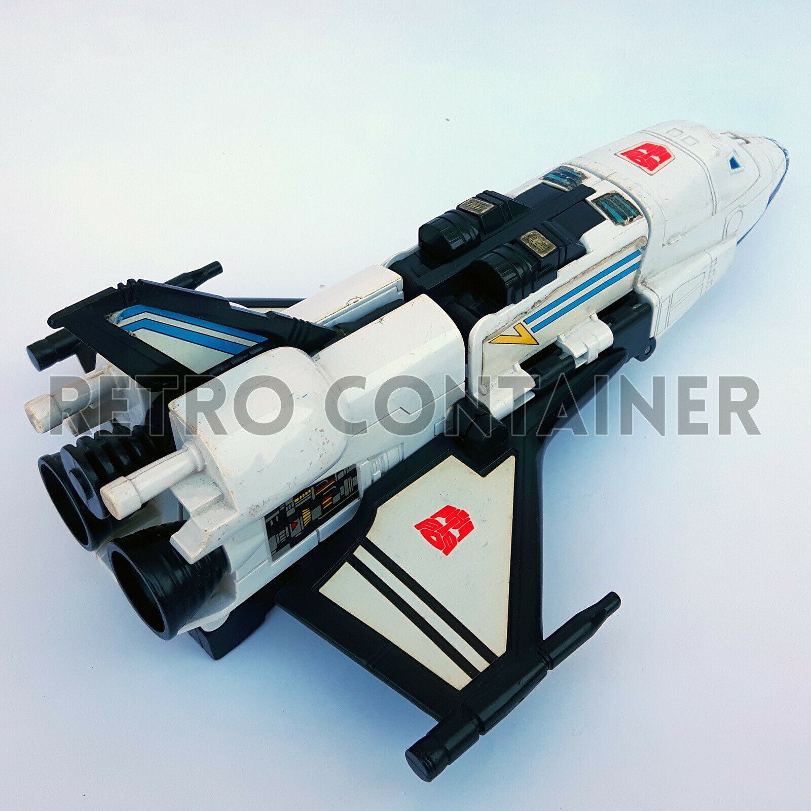 TRANSFORMERS G1 Galaxy Shuttle Victory C-326 Complete Euro Japan Takara Zone 89