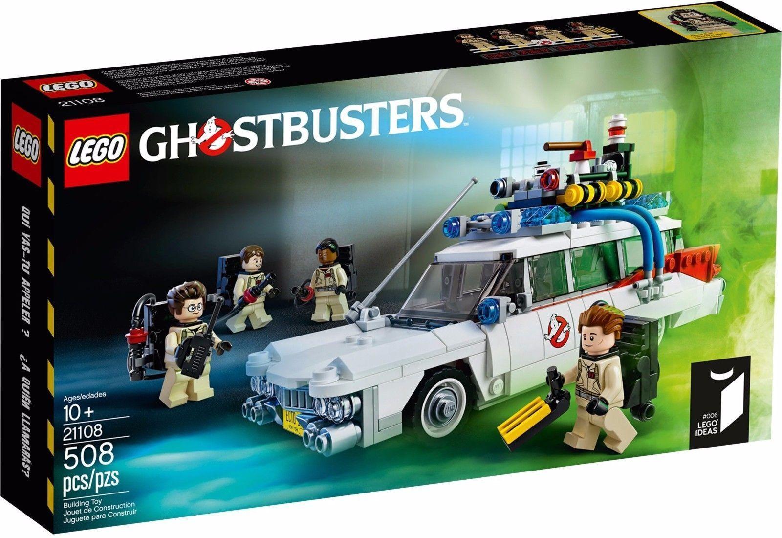 Lego 21108 Ideas - Ghostbusters Ecto-1 Boite Neuve Scellée