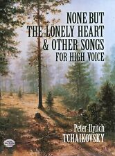 Tchaikovsky None But The Lonely Heart High Voice Vocal Choir Voice Music Book