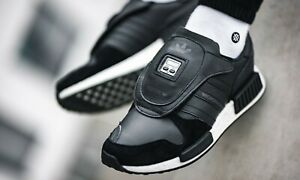 adidas ORIGINALS MEN/'S MICROPACER X R1 TRAINERS BLACK RARE SNEAKERS SHOES 80S
