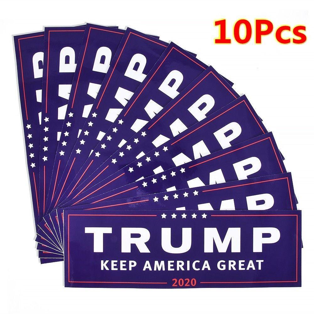 80Pcs Donald Trump For President 2020 Keep America Great Bumper Car Stickers sm