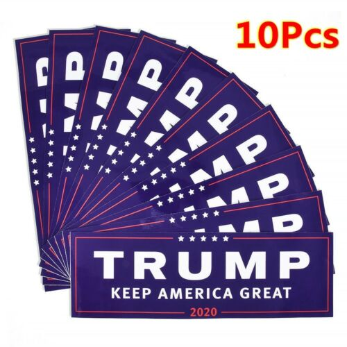 Donald Trump For President 2020 Bumper Sticker Keep Make America Great Decal FG