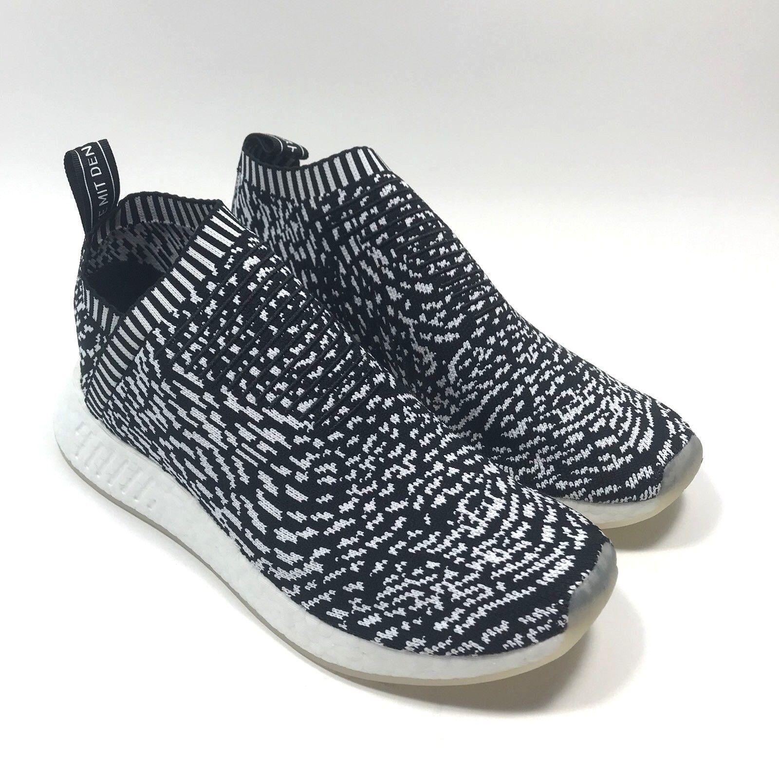 ee4f9e793b Adidas NMD CS2 PK City Sock 2 Sashiko Core Black White BY3012 Mens Size 9 12