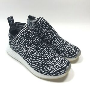64cbb416b Adidas NMD CS2 PK City Sock 2 Sashiko Core Black White BY3012 Mens ...