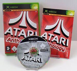 Microsoft-Xbox-Atari-Anthology-Anleitung-OVP