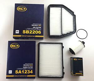 Filtro-set-sct-Germany-filtro-aceite-filtro-de-aire-espacio-interior-filtro-opel-antara-2-2-CDTI