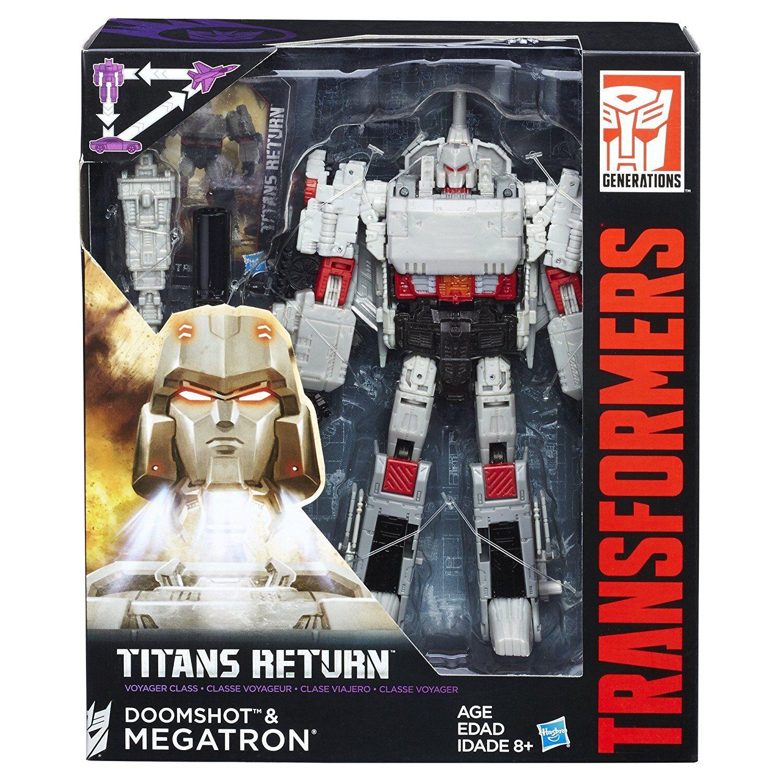 Megatron & doomshot (Leader Class générations Titans retour) transformateur