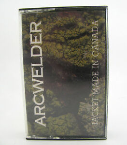 Arcwelder-Cassette-Tape-Jacket-Made-in-Canda-Rare-Indie-Rock-Punk-1990-Vtg