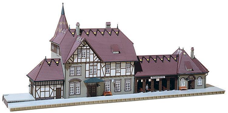 Faller 110116 Estación blackburg; Nuevo y Emb. Orig.