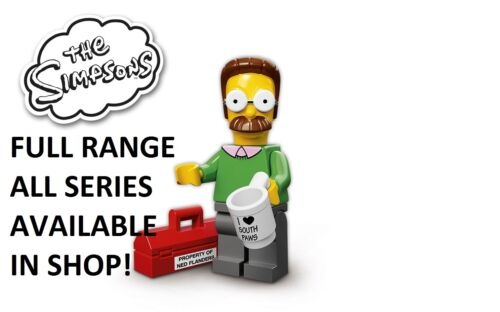 Lego ned flanders the simpsons series 1 unopened new factory sealed