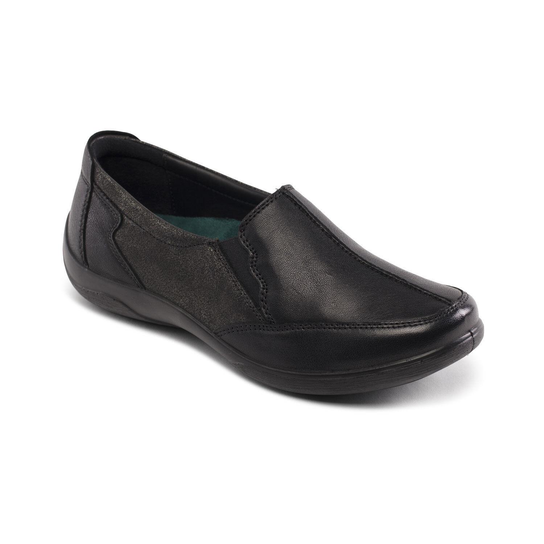 Cómodo y bien parecido Descuento por tiempo limitado Padders Flute Leather  EE/EEE Fitting Slip On Comfort Shoe For Winter Sizes 3-9