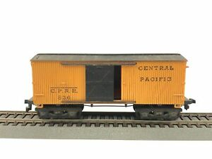 HO-Scale-Mantua-CPRR-Central-Pacific-Old-Timer-36-039-Box-Car-836