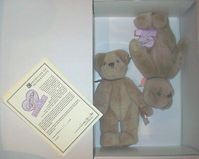 "Apprehensive Annette Funicello Jessie & Jayme 9"" Plush Bears Limited Edition Buy One Give One Annette Funicello Dolls & Bears"