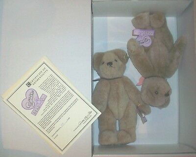 "Apprehensive Annette Funicello Jessie & Jayme 9"" Plush Bears Limited Edition Buy One Give One Bears Annette Funicello"