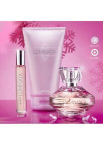 Avon Luminata Designers Gift Set Eau De Parfum Body Lotion Purse