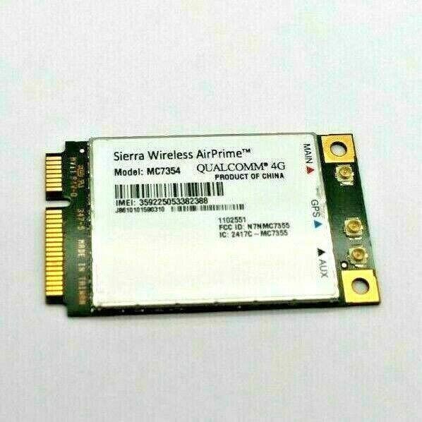 100Mbps MINI PCIE card Sierra Wireless MC7354 2G 3G 4G LTE//HSPA