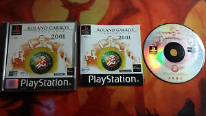 ROLAND-GARROS-FRENCH-OPEN-2001-PLAYSTATION-PS1-PSX-COMBINED-SHIPPING