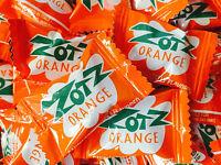 Zotz Orange Fizz Sour Candy One Pound 85pc Bulk Wedding Buffet Table Bar