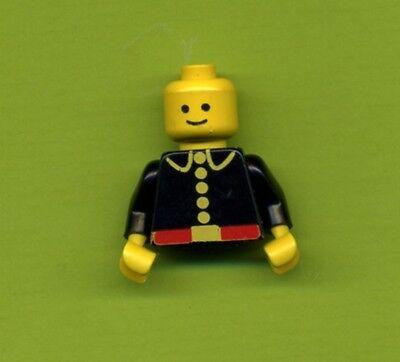 Lego--Figur--973p21--Feuerwehrmann--Alte Serie--Oberkörper- Torso mit Kopf--