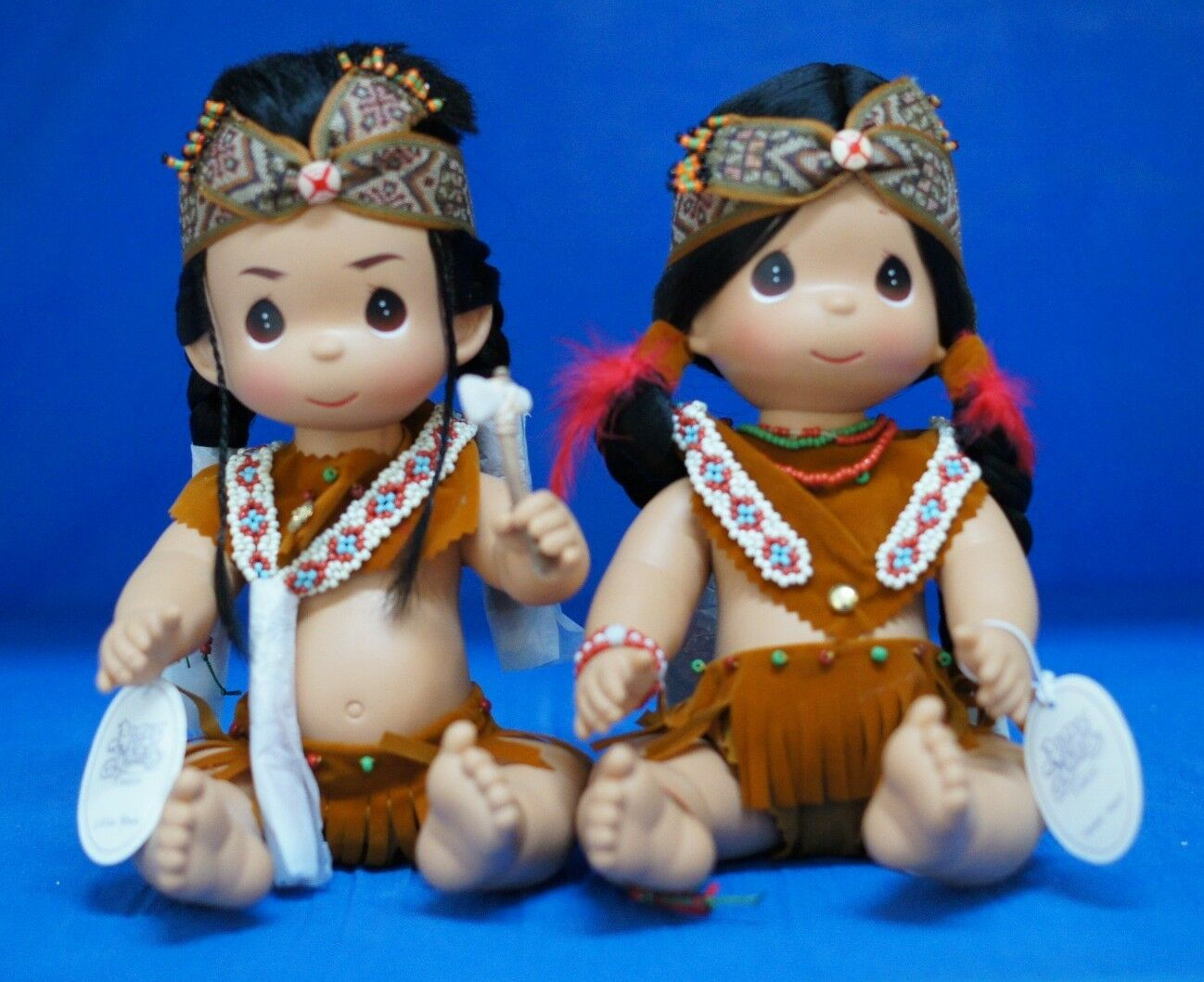 Little Valiente & tender heart 12  juego de muñeca preciosos momentos 4428 4429 Firmado