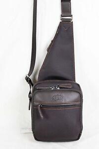 fbd405103 Détails sur FRANCINEL Sac monobretelle en nylon garni cuir réf 653106 (noir  ou marron)