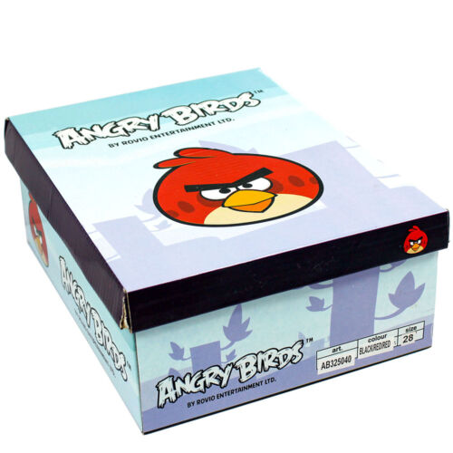 New Shoes Casual Low Shoes Boys/' Shoes Angry Birds Black 27-34 #5