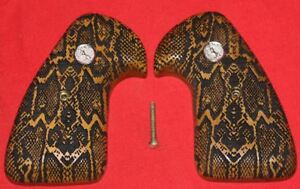 Colt-Firearms-Python-Officers-Model-Snake-Skin-Pattern-Grips