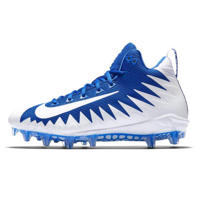 27349d5c7 Nike Alpha Menace Pro Mid Football Cleats Royal Blue Mens Size 13 ...