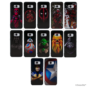 Marvel-Case-Cover-For-Samsung-Galaxy-S7-Screen-Protector-Silicone-Gel-3D-TPU