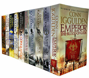 Conn-Iggulden-Emperor-amp-Conqueror-Series-10-Books-Collection-Set-NEW-God-of-War