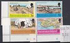 Ascension Island 1977 Visita del prof. Gill MNH