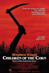 CHILDREN OF THE CORN Movie Poster Horror