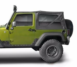Jeep Wrangler Replacement Soft Top >> Smittybilt Oem Replacement Soft Top W Tint 10 17 2dr Jeep Wrangler