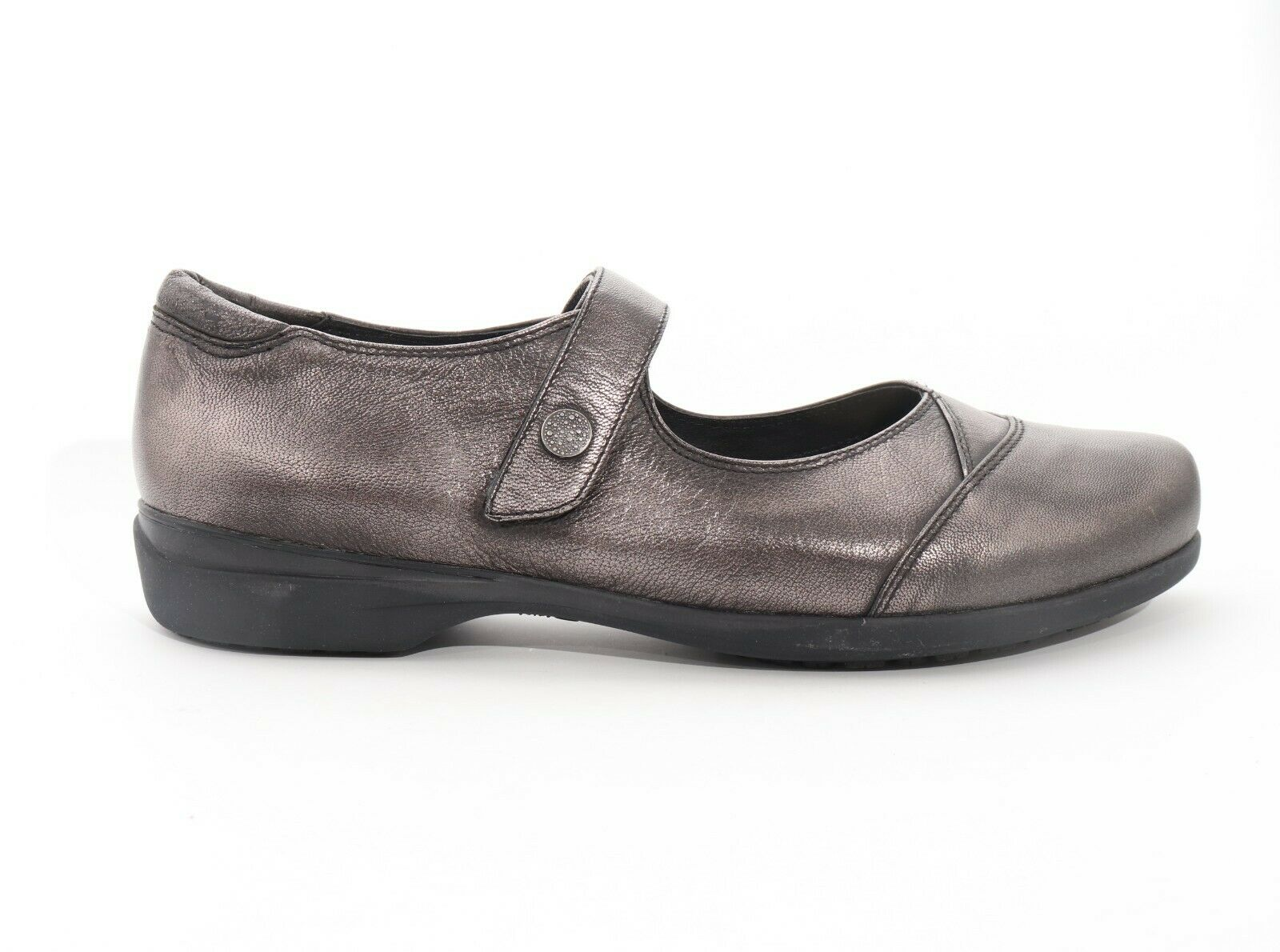 Abeo Abby Mary Janes Slip Resistant Pewter Women's Size 7