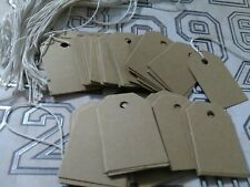 200 Unstrung Rustic Brown 85lb Card Stock Retail Price Tags Gift Tags String