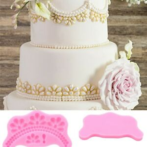 Creative-Pearls-Beads-Silicone-Mould-Fondant-Cake-Border-Decal-Pastry-Mold-DIY