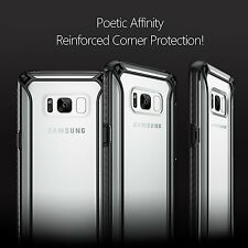 For Samsung Galaxy S8 Plus [Affinity] Shockproof Case Bumper Protective Cover BK