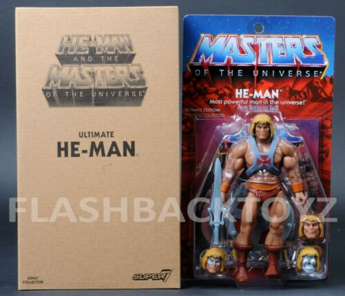 2019 Super 7 MOTU Ultimate HE-MAN Filmation 2.0 Masters of the Universe