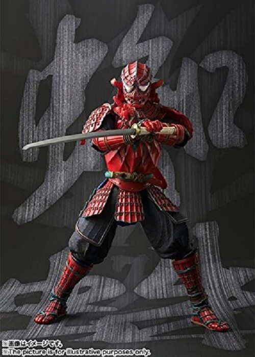 Marvel Samurai  Spider Man  Bandai Meisho Manga Realization