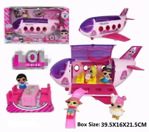 UK Kids Girls LOL Surprise Doll Plane Car Playset Picnic Figure Toy Xmas Gifts