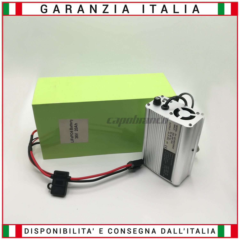 Batteria Per Bici Elettrica Monopattino LiFePO4 36V 20Ah Con Cocheicabatteria