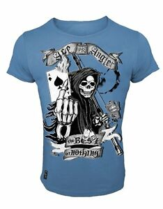 Hotspot Design T-Shirt Ace Angler, Skull Collection, Freizeitshirt