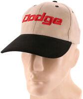 Dodge Black Khaki Baseball Cap Trucker Hat Snapback Mopar Ram Charger Challenger