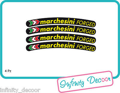 Adesivi Marchesini Forged Per Cerchi - Hypermotard Ducati Honda Suzuki Smoothing Circulation And Stopping Pains