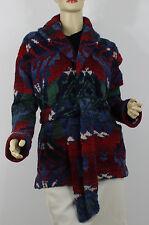 Ralph Lauren Hand Knit Beacon Sweater Jacket Womens XL XLarge Cashmere Wool New